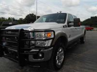 This 2011 Ford F-250 Super Duty Lariat 4X4 only has