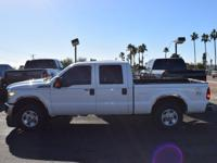 This 2011 Ford Super Duty F-250 SRW 4dr 4WD Crew Cab