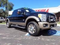 THIS IS A BEAUTIFUL 2011 FORD F250 KING RANCH CREW CAB