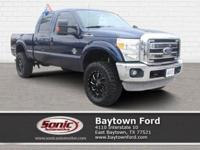 Safety comes first with this 2011 Ford Super Duty F-250