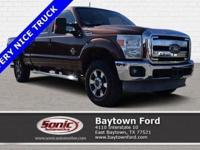 This 2011 Ford Super Duty F-250 SRW Lariat comes