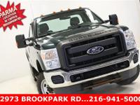 Clean CARFAX. Forest Green Metallic 2011 Ford F-250SD