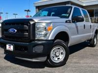 Clean CARFAX. Ingot Silver Metallic 2011 Ford F-250SD