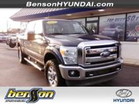LEATHER. GVWR: 10,000 lb Payload Package, 4D Crew Cab,