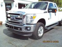 2011 Ford F-250 XLT Super Cab 4x4. This truck has the