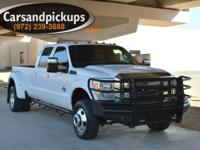 2 Owner Clean Carfax 2011 Ford F-350 Dually 4x4 Crew