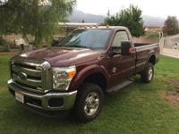 This F350 Diesel drives like a dream! Real 4X4