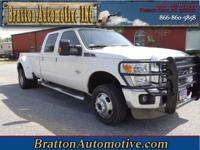 Exterior Color: white, Body: Crew Cab 4X4, Engine: 6.7