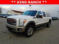Options:  2011 Ford F-350Sd King Ranch|White|Recent