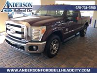 New Price! Ruby Red 2011 Ford F-350SD Lariat RWD