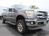 This 2011 Ford F350 Super Duty Crew Cab Lariat Pickup