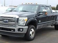 Options:  2011 Ford F-350 Super Duty Lariat 4X4 4Dr