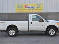 White 2011 Ford F-350SD XLT Power Stroke 4x4!!!! 4WD