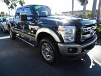 KING RANCH! 4X4! CREW CAB! 6.7L POWER STROKE DIESEL!