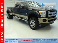 KING RANCH-DIESEL-DUALLY-FX4-4X4-LIFTED-ROOF-NAV-REAR