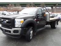 11 FOOT FLATBED WITH * 6.7 L. DIESEL * 6-SPEED