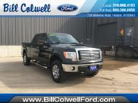 New Price! Black 2011 Ford F-150 XLT 4WD 6-Speed