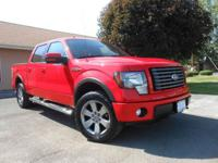2011 FORD F150 SUPERCREW FX4! BRIGHT RED! LOADED!