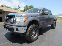 2011 Ford F150 XLT Supercrew 4x4. Powered By A 5.0L V8,