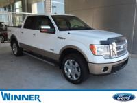 LOW MILES!! CLEAN CARFAX, ECOBOOST V6, 4WD, LEATHER