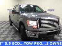 CARFAX One-Owner. Clean CARFAX. Grey 2011 Ford F-150