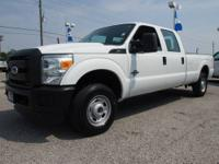 2011 Ford F250 4X4 Crew Cab XL Price: $35,481 Call or