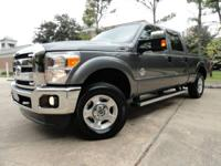 2011 FORD F250 4x4-FX4 XLT 6.7L DIESEL with 63195