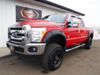 FREE POWERTRAIN WARRANTY! LIFTED UP 2011 FORD F250