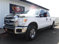 LOCAL TRADE 2011 FORD F250 SUPER DUTY CREW CAB SHORT