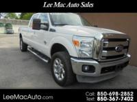 2011 FORD F350 CREW CAB, LARIAT,FX4 ,4X4 LONG BED ,