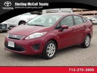 Sterling McCall Toyota presents this 2011 Ford FIESTA