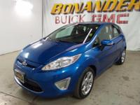 Look at this 2011 Ford Fiesta SES. Its transmission and