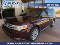 This Ford Flex has a dependable Gas V6 3.5L/213 engine