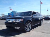 New Price! Clean CARFAX. Black 2011 Ford Flex Limited