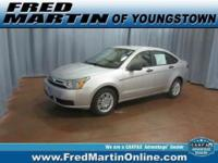 ONE OWNER, CERTIFIED Pre-Owned, and CLEAN CARFAX. Focus