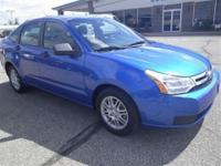 2011 Focus SE! 1 owner 0 accident clean carfax!! Blue