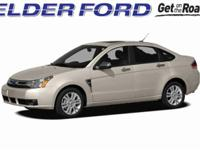 Clean CARFAX. 2011 Ford Focus SE Black Odometer is