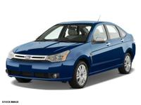 WELL MAINTAINED SE FOCUS, EQUIPPED WITH CD PLAYER,