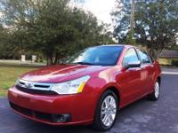 Beautiful 2011 Ford Focus SEL, 4-Cylinder, Automatic,