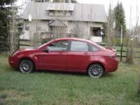 2011 Ford Focus SEL Sedan 22,000 miles Automatic