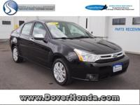 Carfax 1 Owner! Accident Free!  2011 Ford Focus SEL, 4D