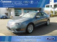 Here is a FORD CERTIFIED PRE OWNED (CPO) FUSION,