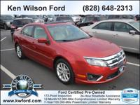 This 2011 Ford Fusion 4dr SEL FWD 3.0 L Automatic Sedan