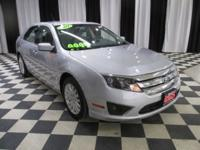 OVERVIEW This 2011 Ford Fusion 4dr 4dr Sedan Hybrid FWD