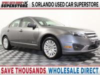 SAVE THOUSANDS on this 2011 Ford Fusion Hybrid. SPORT