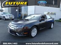Load your household into the 2011 Ford Fusion Hybrid!