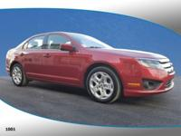 New Price! This 2011 Ford Fusion SE in Red Candy