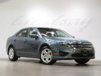 Steel Blue Metallic 2011 Ford Fusion SE FWD 6-Speed