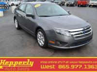 CARFAX One-Owner. This 2011 Ford Fusion SE in Gray