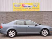 2011 Ford Fusion SE  in Blue. FWD. Car buying made